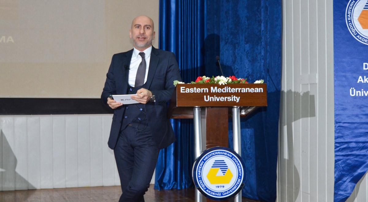 EMU Entrepreneurship and Innovation Center Hosted Avva Executive Board Chair Volkan Atik